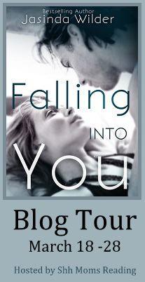 falling into you blog tour button