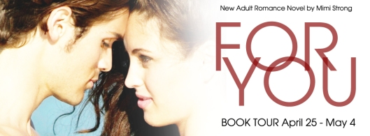 For You blog tour banner